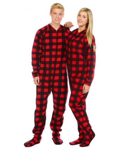 Slumberjack Footed Pajamas