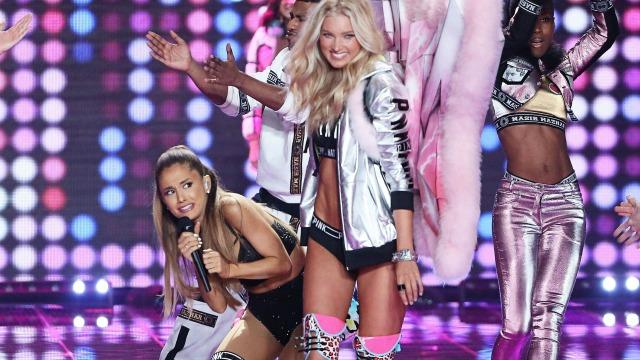 2014 Victoria's Secret Fashion Show Ariana Grande Ariana Grande Victoria s