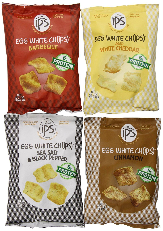 Egg white chips