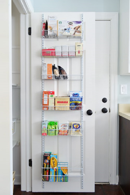 14 Genius Ways To Turn A Door Into Extra Storage Space