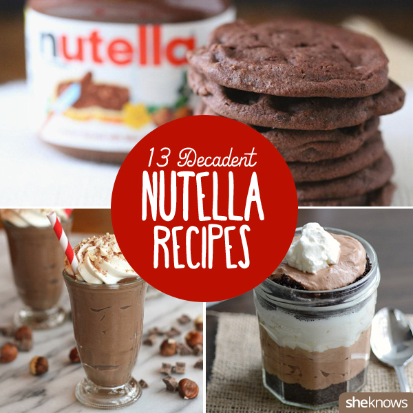 Because we all deserve more Nutella in our lives