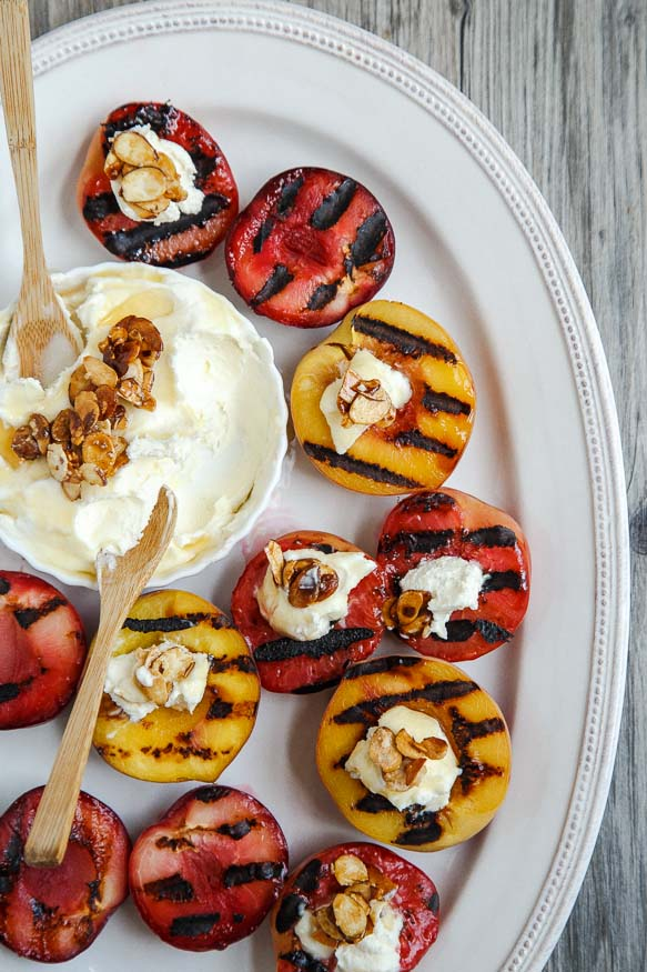 Grilled Stone Fruit Recipe — Dishmaps