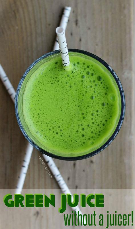 green juice no juicer