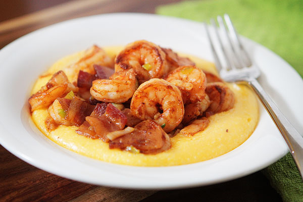 Shrimp & Grits Recipe — Dishmaps