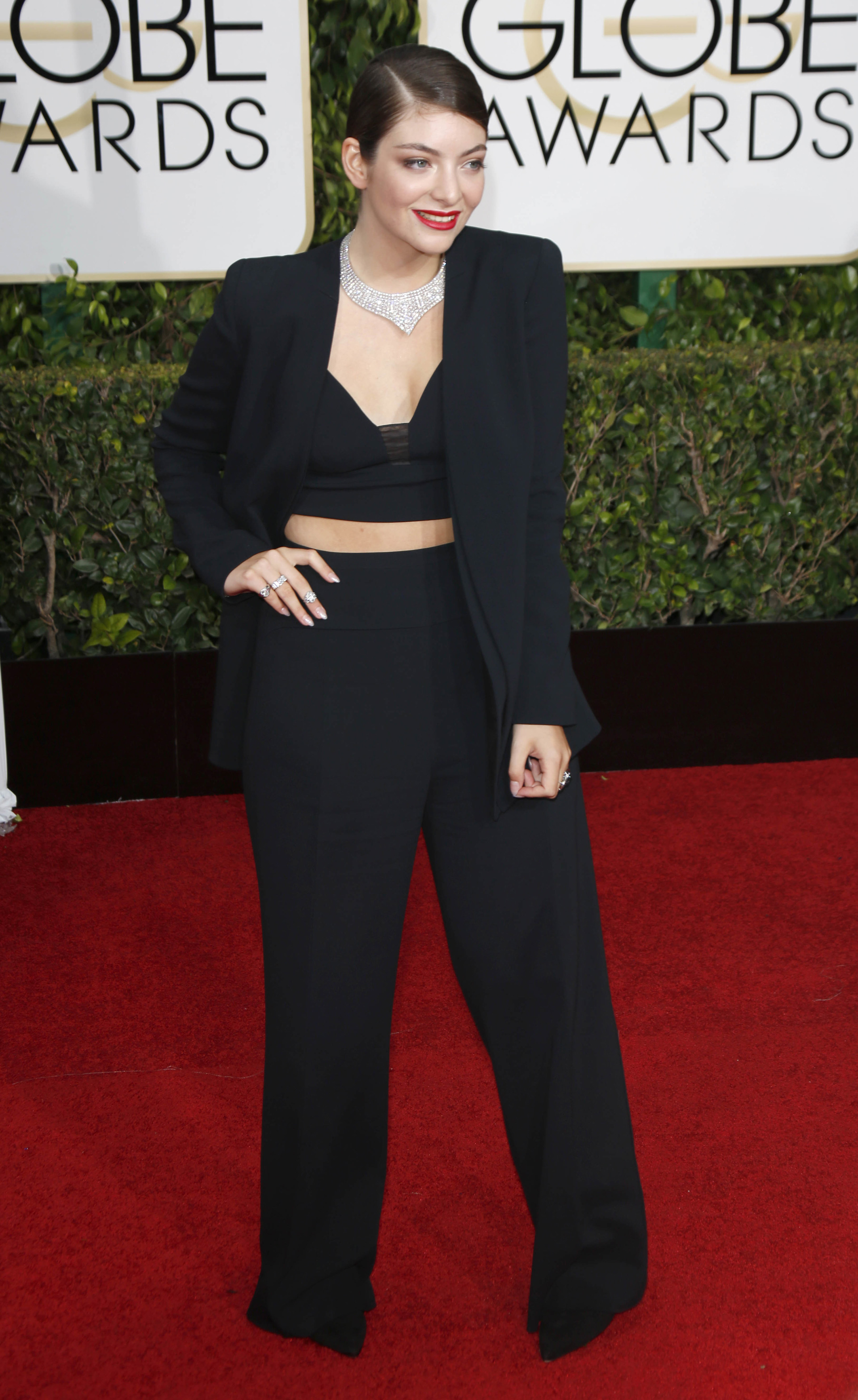 Lorde at the Golden globes