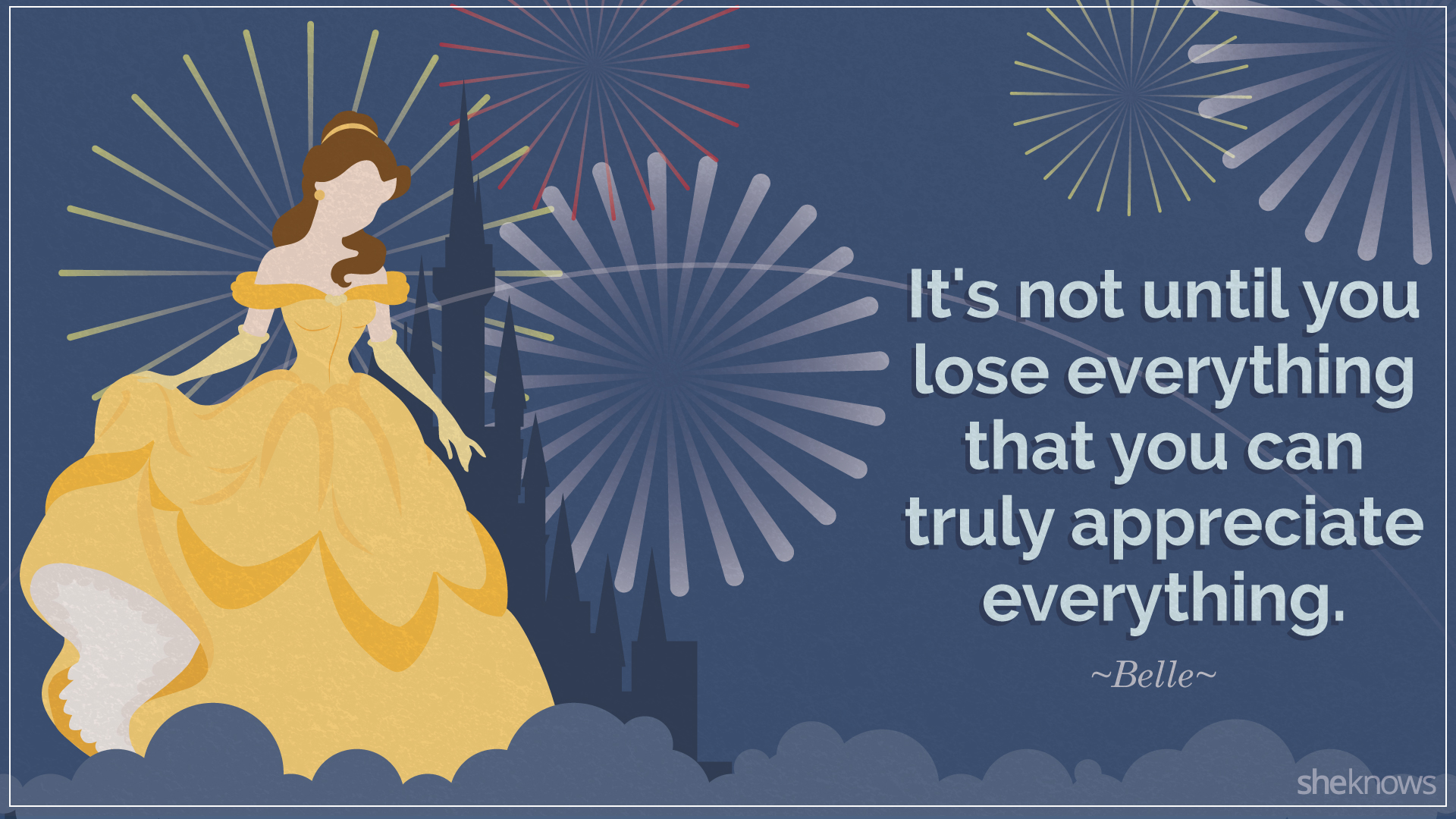 belle inspirational quote