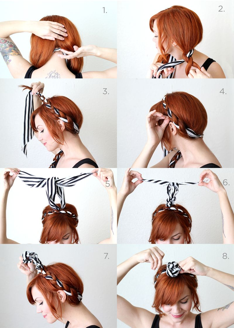Fabric Maiden Braid Tutorial
