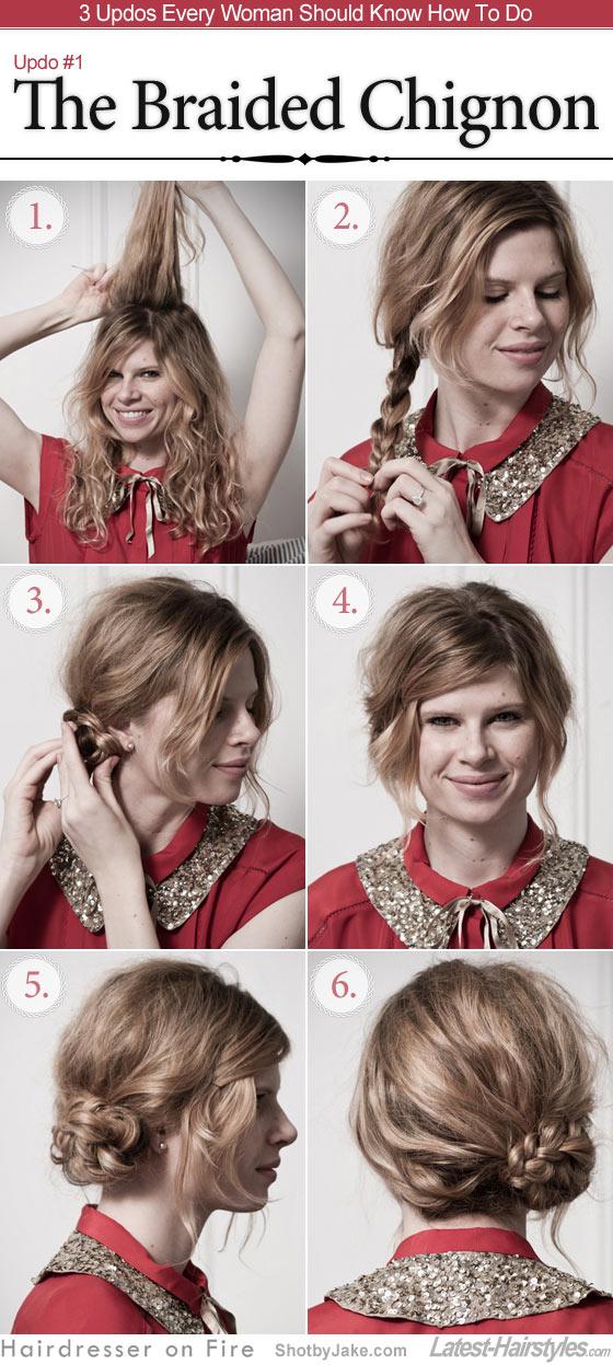 hair styles how tos