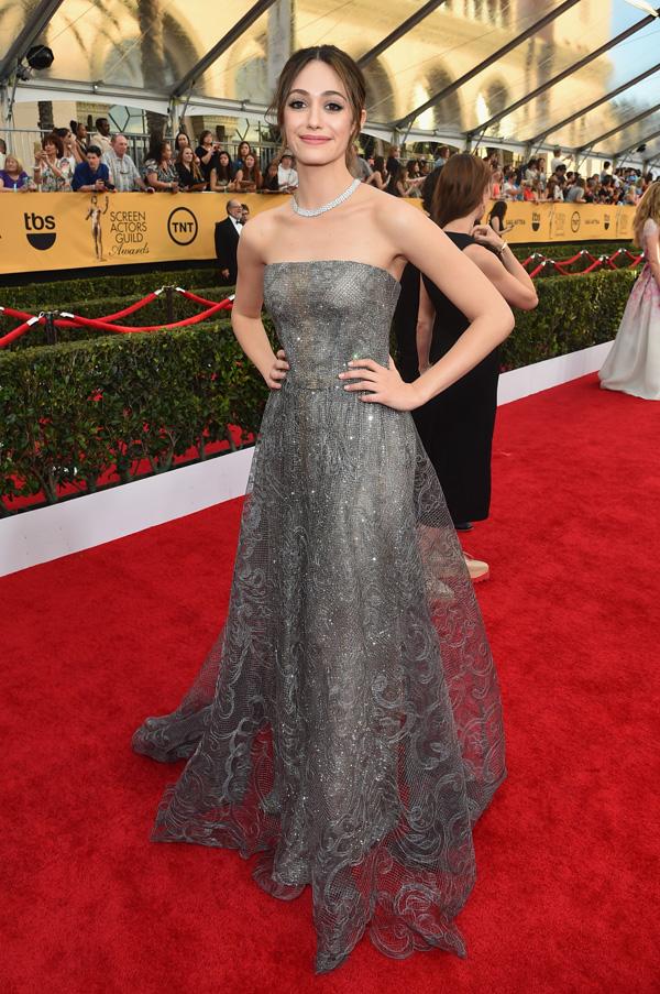 Emmy Rossum SAG Awards