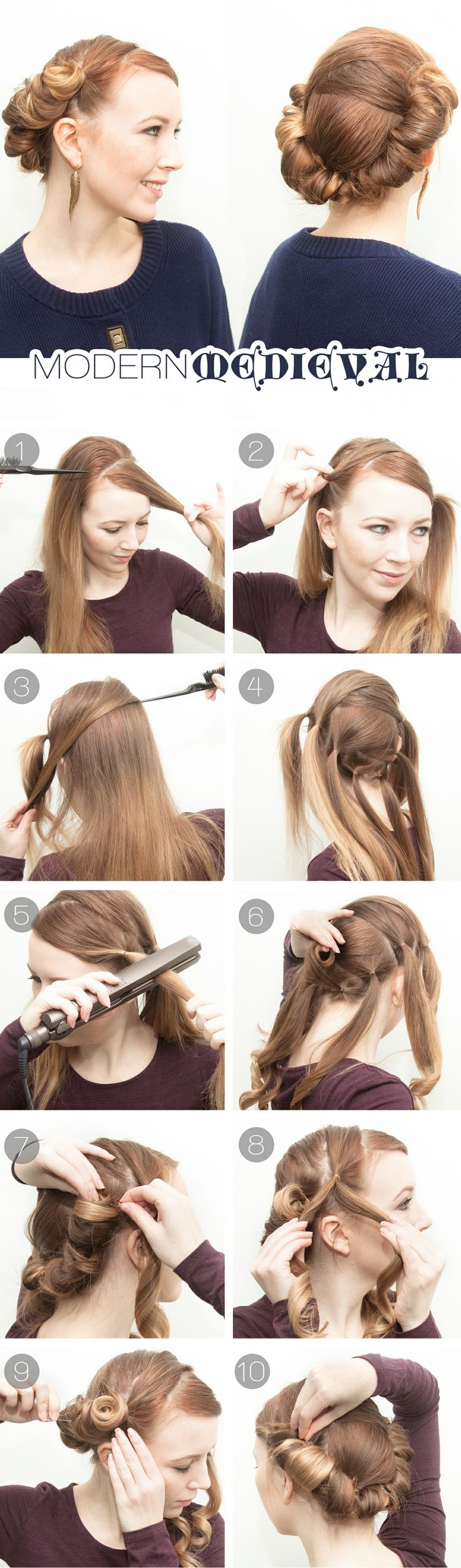 9 Genius Hairstyles You Can Do With A Flat Iron