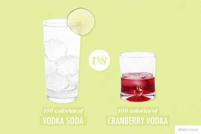 Vodka Cranberry Drink Calories