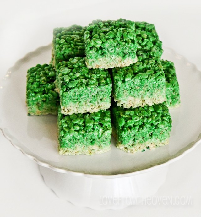 11 Foods you can dye green for your favorite leprechauns