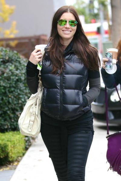 Pregnant Jessica Biel