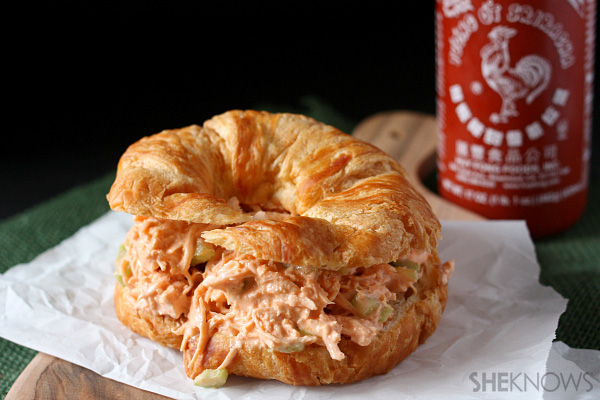 How to amp up chicken salad : Add Sriracha sauce, and serve on buttery ...