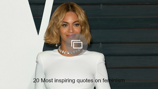 Inspiring Feminism Quotes slideshow