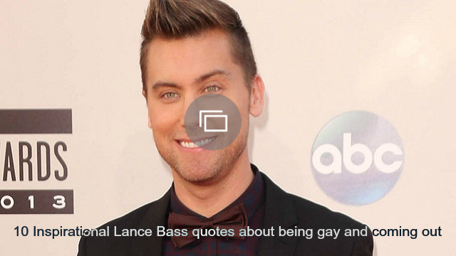 Lance Bass slideshow