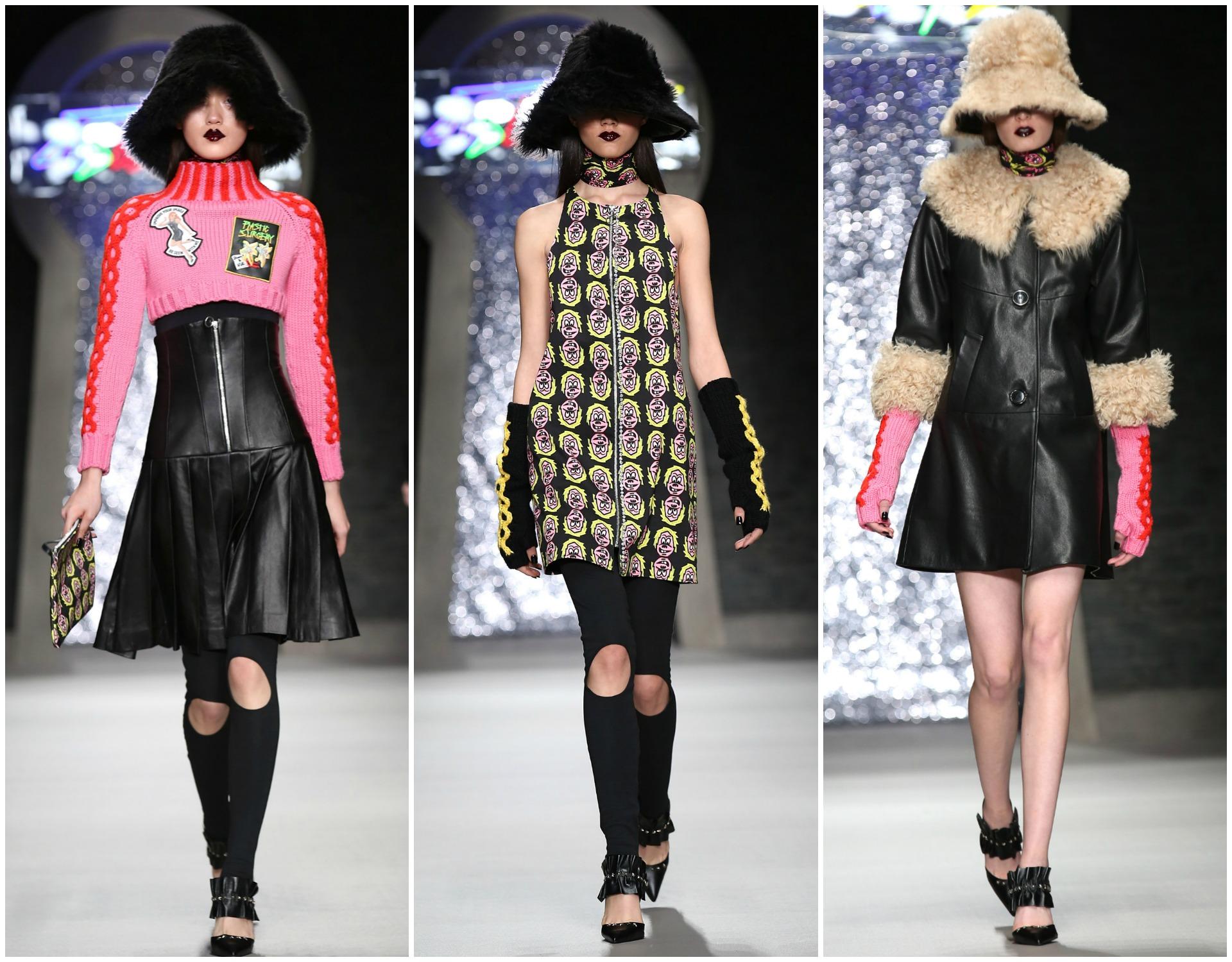 Ashley Williams at London Fashion Week AW15