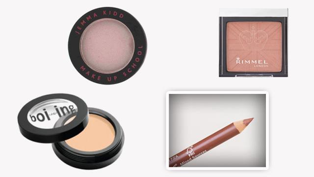 Medium skin make up collage