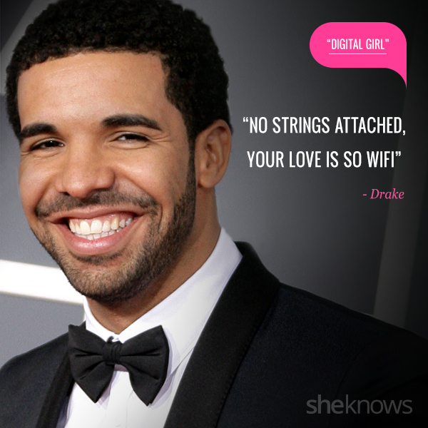 Love quotes from rap songs: 15. Drake