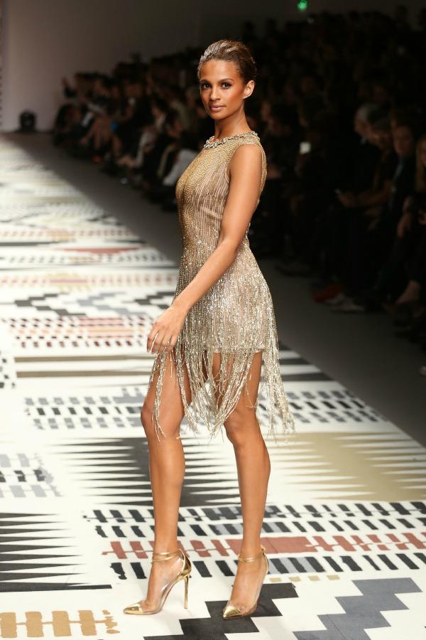 Alesha Dixon at Fashion for Relief