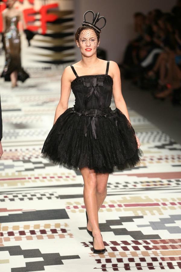 Caroline Flack at Fashion for Relief