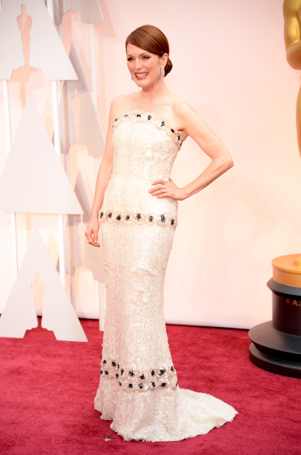 Julianne Moore at the Oscars