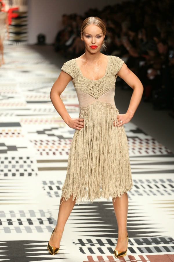 Katie Piper at Fashion for Relief