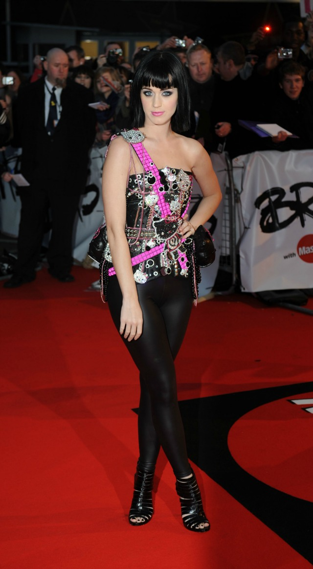 Katy Perry at the 2009 BRITS