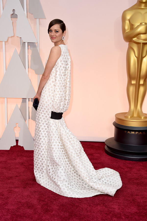 Marion Cotillard at the Oscars