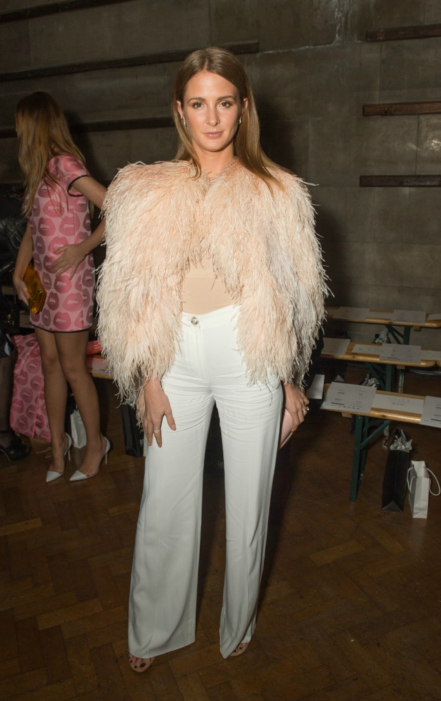 Millie Mackintosh at London Fashion Week AW15