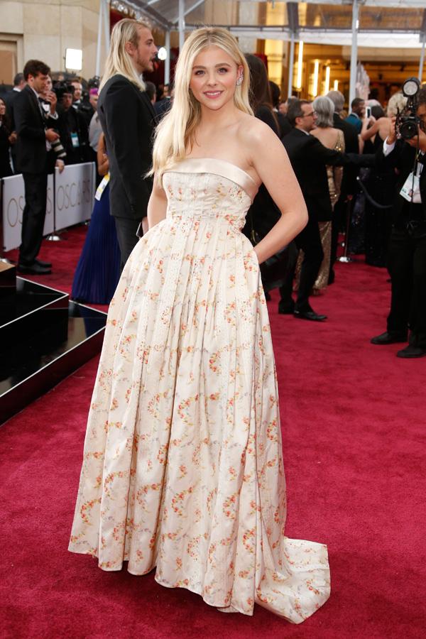 Chloe Grace Moretz at the 2015 Oscars