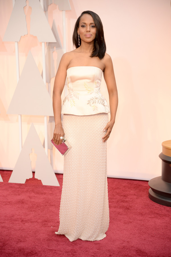Kerry Washington at the 2015 Oscars