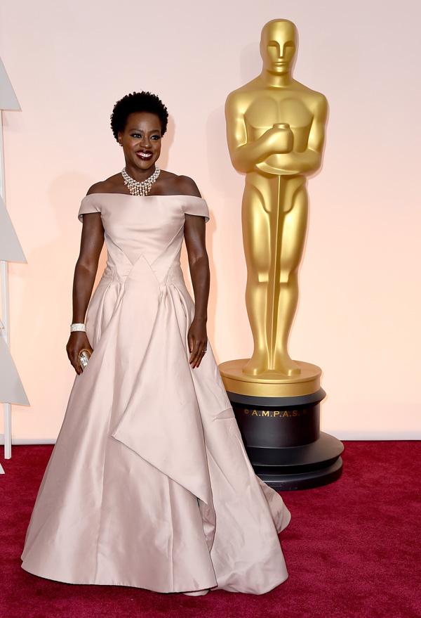Viola Davis at the 2015 Oscars