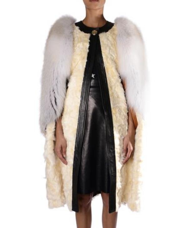 Givenchy shearling coat