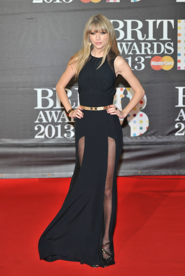 Taylor Swift at the 2013 BRITS