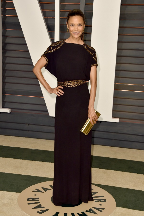 Thandie Newton at the 2015 Oscars