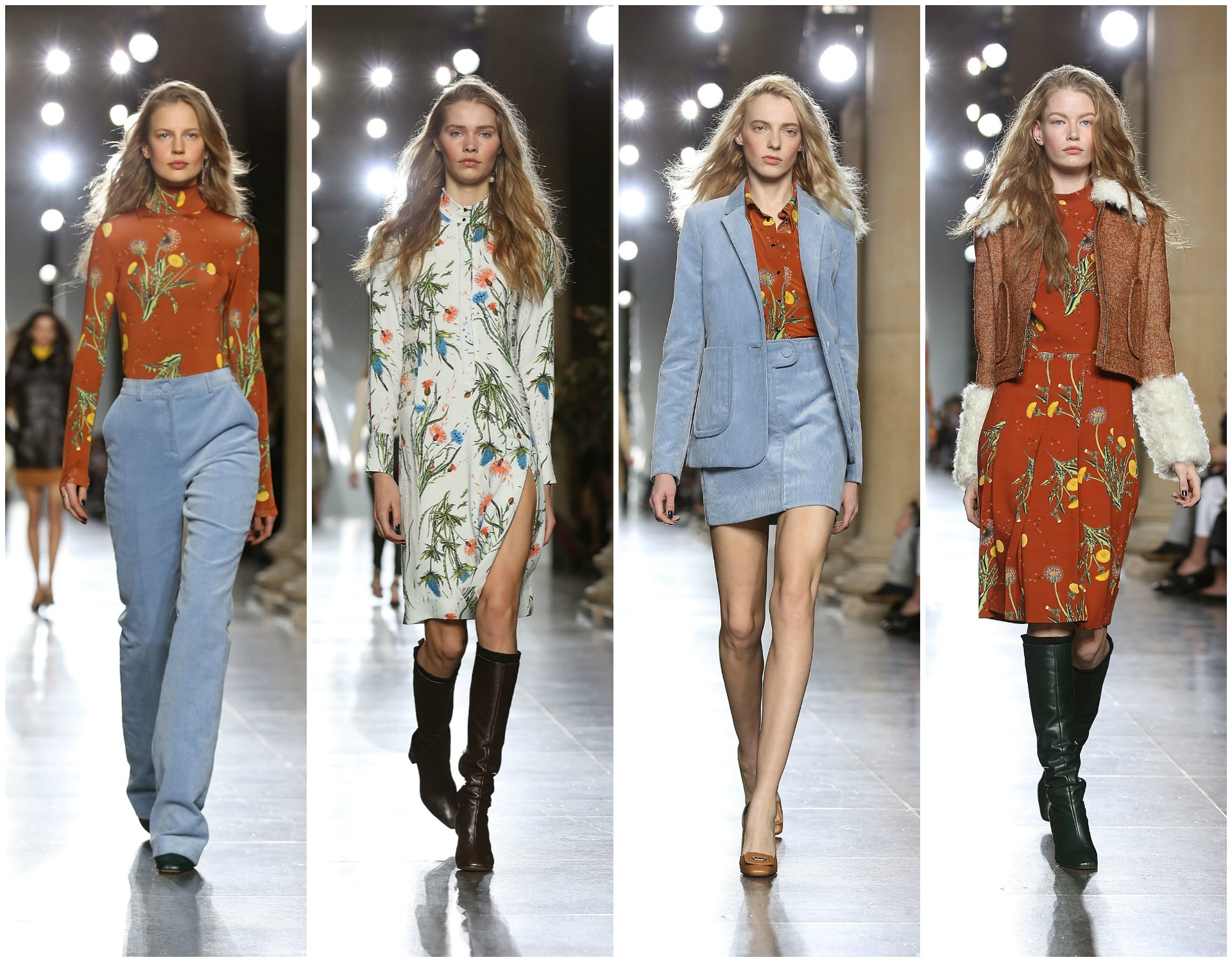 Topshop Unique at London Fashion Week AW15