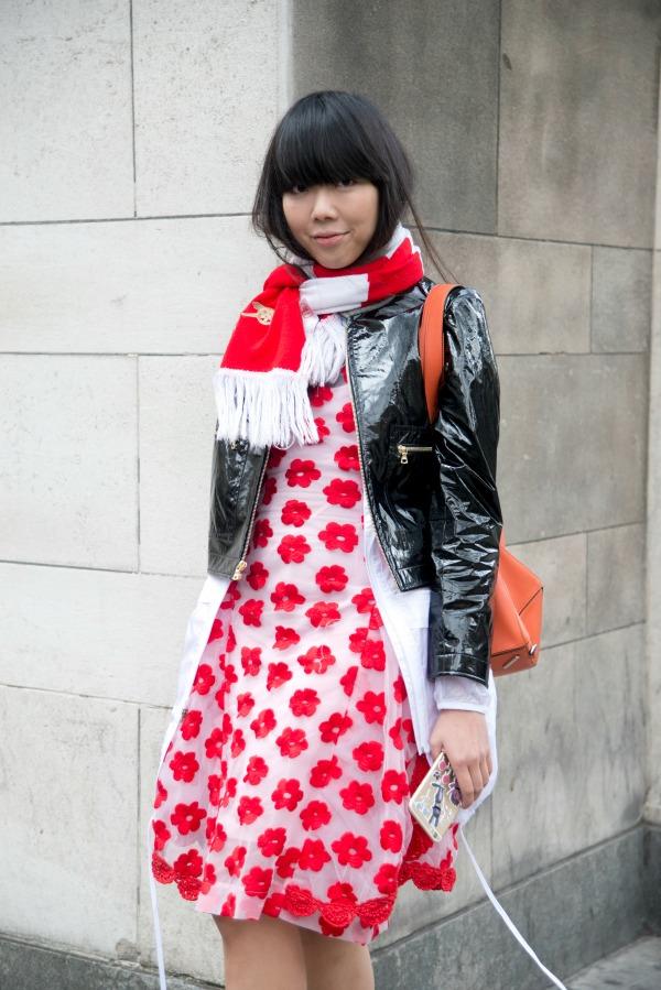 Street style at London Fashion Week AW15