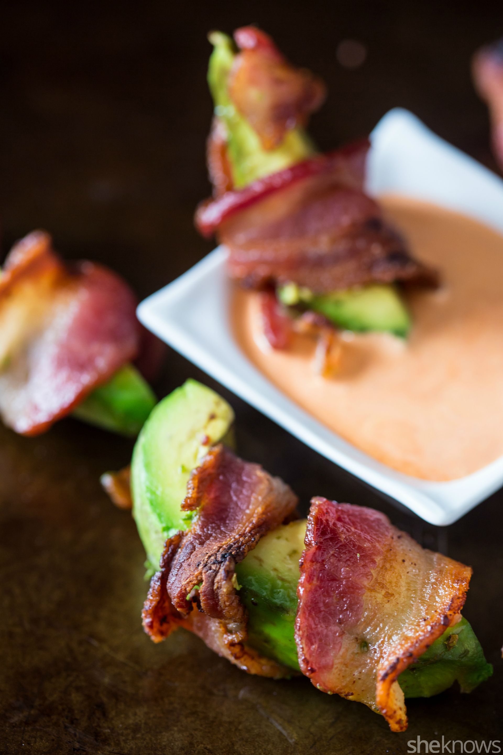 Bacon-wrapped Avocado Fries Make A Super-simple Snack