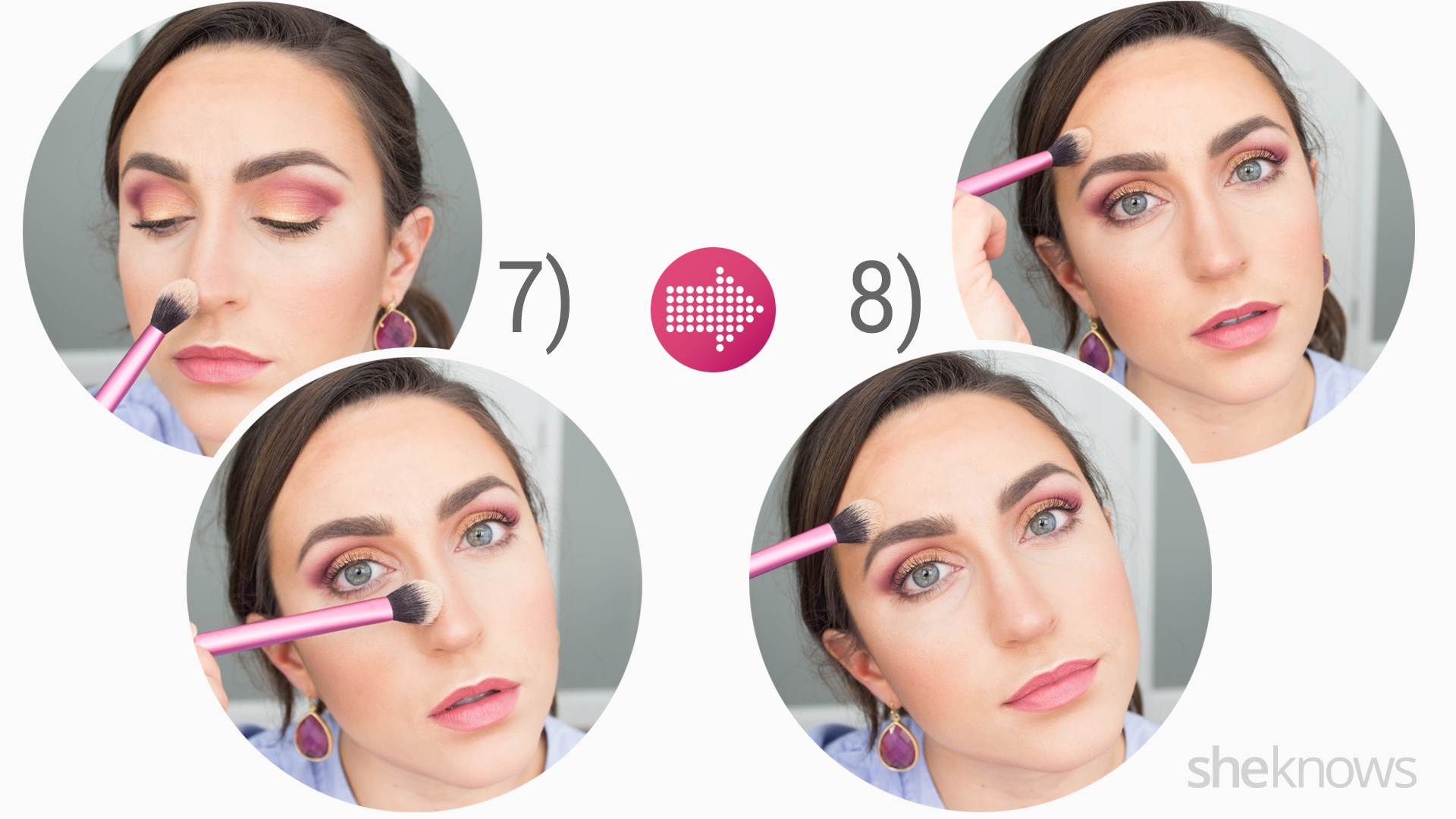 Contouring tutorial steps
