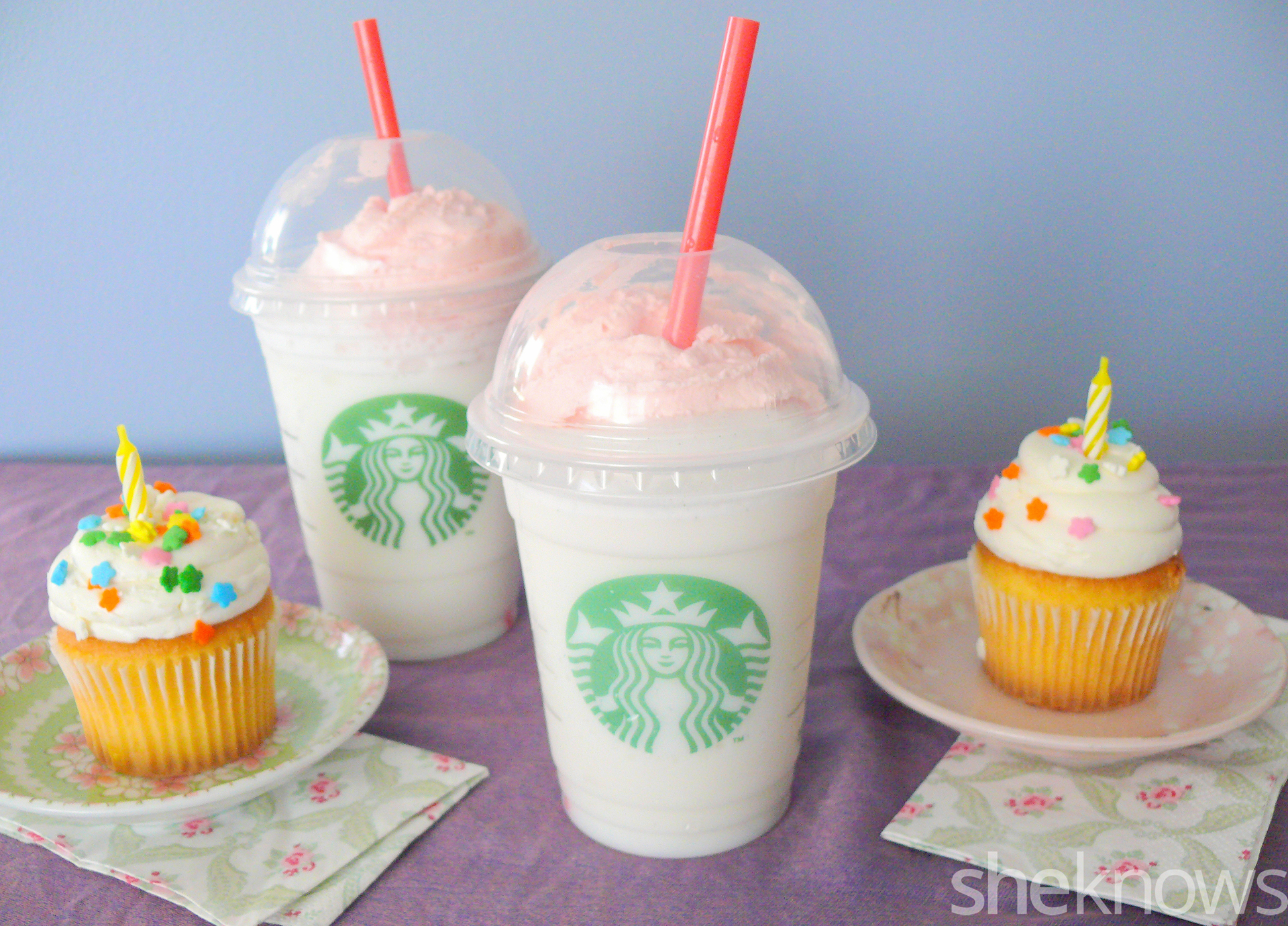 Starbucks Birthday Cake Frappuccino We Tried It Is It