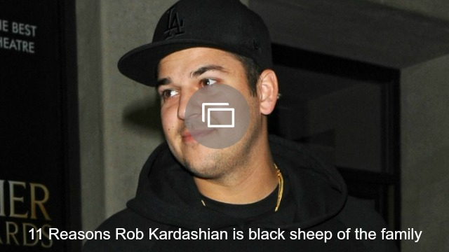 Friends and family are worried about Rob Kardashian's health, again