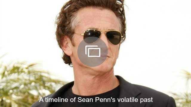 sean penn timeline slideshow