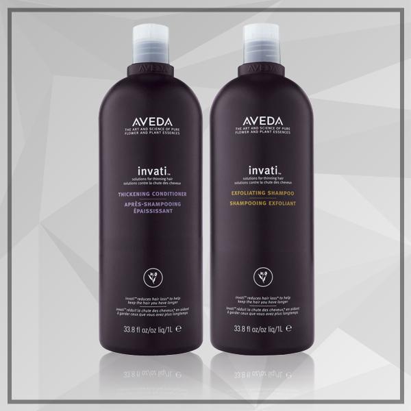 Aveda Invanti Exfoliating Shampoo and Thickening Conditioner