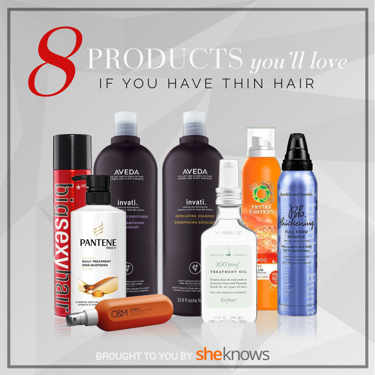 8 Products for thin hair | Sheknows.com