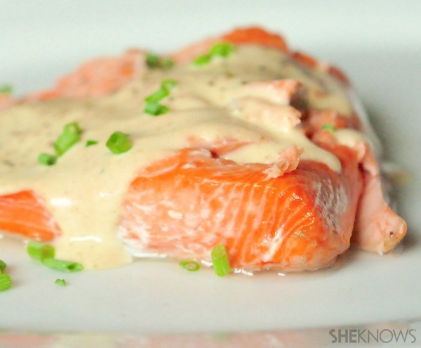 butter favorite — try this baked salmon with a brown butter sauce ...