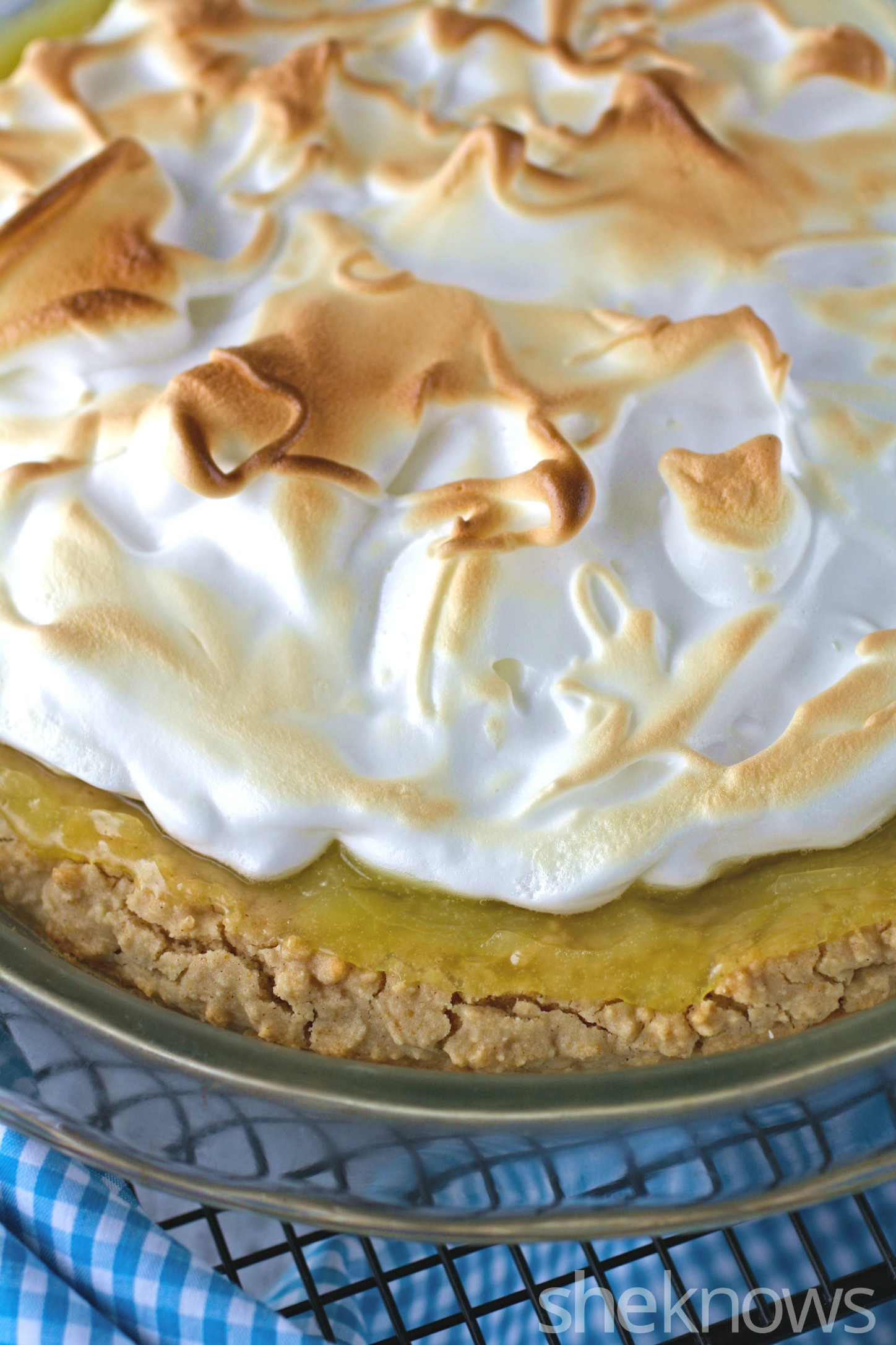 gluten free friday lemon meringue pie with homemade
