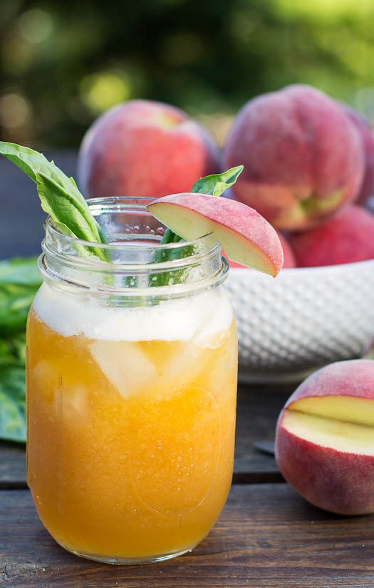 Peach Julep Recipe — Dishmaps