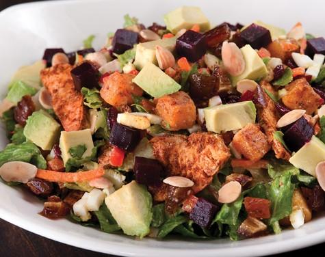 California Pizza Kitchen Moroccan Chicken Salad Calories