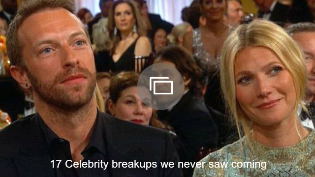 Celebrity breakups slideshow